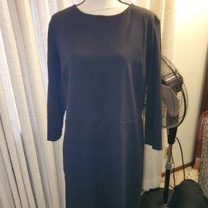 Old Navy black sheath dress sz XXL